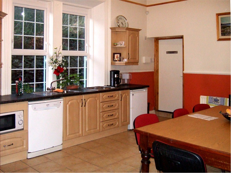 Kitchen available for use when hiring rooms  in the Pastoral Centre, Letterkenny, Co. Donegal, Ireland