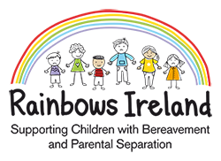 Rainbows program - supporting children and young people affected by loss because of bereavement, separation or divorce - Raphoe Pastoral Centre counselling service, Letterkenny, County Donegal, Ireland